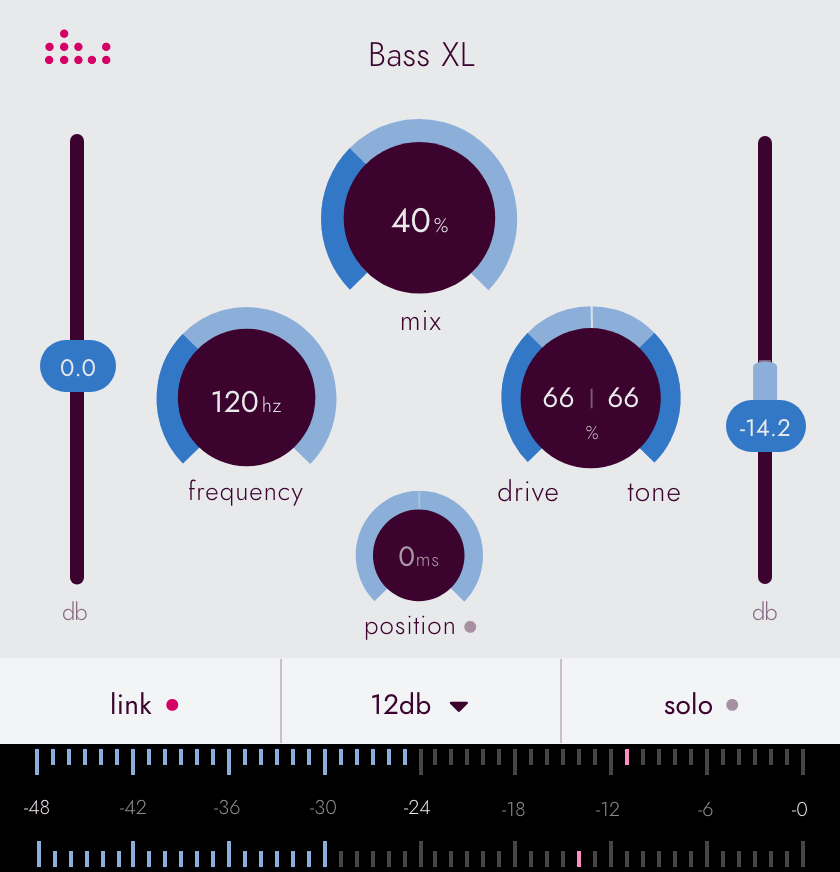 Denise Essentials series plugin the Bass XL