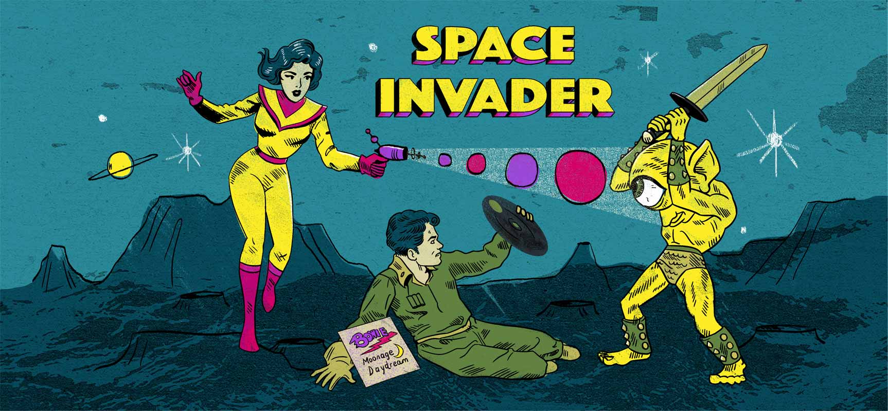 Space Invader video placeHolder