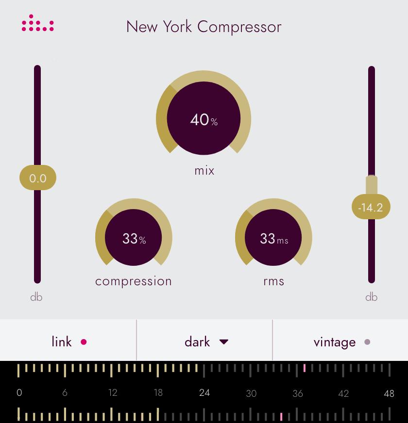 Denise Essentials series plugin the New York Compressor